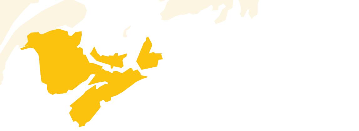 Maritimes map