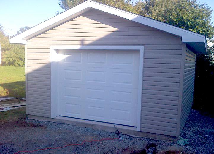 16x16 garage modushed for Garage prudhomme 16